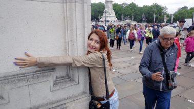 Eu disse que abracei uma pilastra! Mas era muita felicidade (Crédito: Emanuellen Trizi/Roberto Marchini)