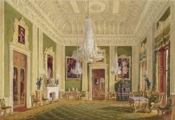 Sala de Visitas Verde, 1843 (Crédito: Douglas Morrison)