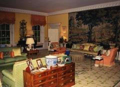 A sala de estar particular de Diana