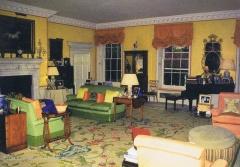 A sala de estar particular de Diana por outro ângulo