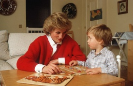 Diana e William