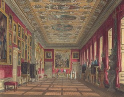 King's Gallery por WH Pyne