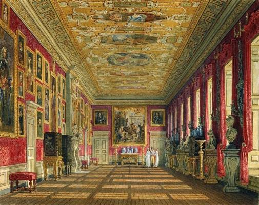 Galeria do Rei, por Charles Wild, 1816