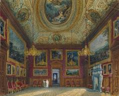 Grande sala de estar do Rei, por Charles Wild, 1816