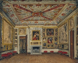 Sala de visitas do Rei, por James Stephanoff
