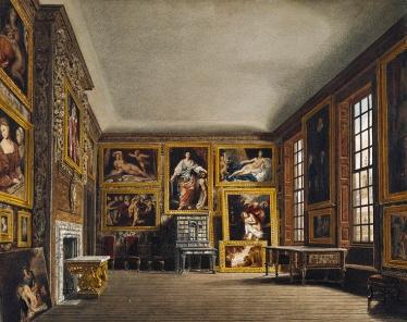Quarto da Rainha, por Richard Cattermole, 1818
