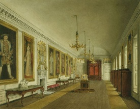 Galeria da Rainha, por James Stephanoff, 1819