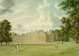 Lado Sul e Leste do pálácio, por William Westall, 1819