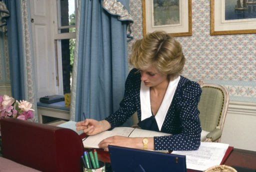 Diana em seu escritório particular