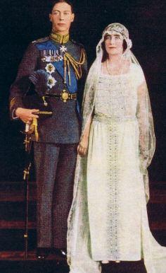 Casamento do Príncipe Albert e Lady Elizabeth Bowes-Lyon