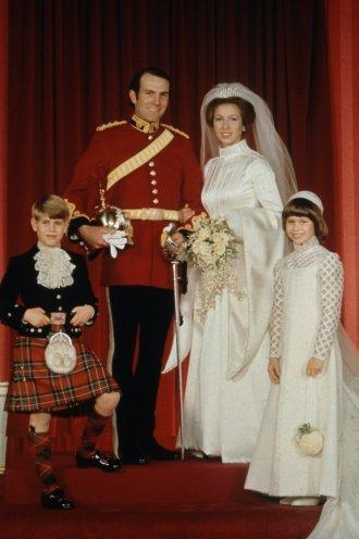 Casamento da Princesa Anne