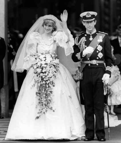 Casamento de Lady Diana Spencer e Príncipe Charles