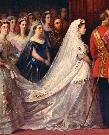 Casamento da Princesa Helena, filha da Rainha Victoria