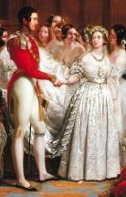 Rainha Victoria e Príncipe Albert