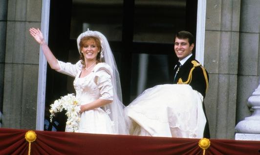 Casamento do Príncipe Andrew e Sarah Ferguson