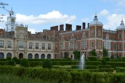 Hatfield House - Parte de trás