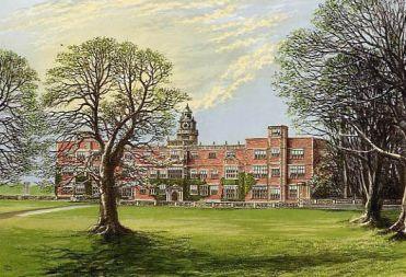 Hatfield House em 1880