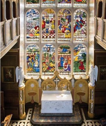 Hatfield House - capela