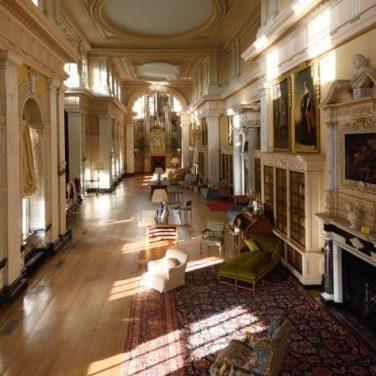 Galeria no Blenheim Palace (Divulgação/Blenheim Palace)